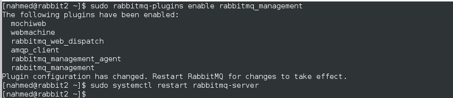 rabbitmq management portal