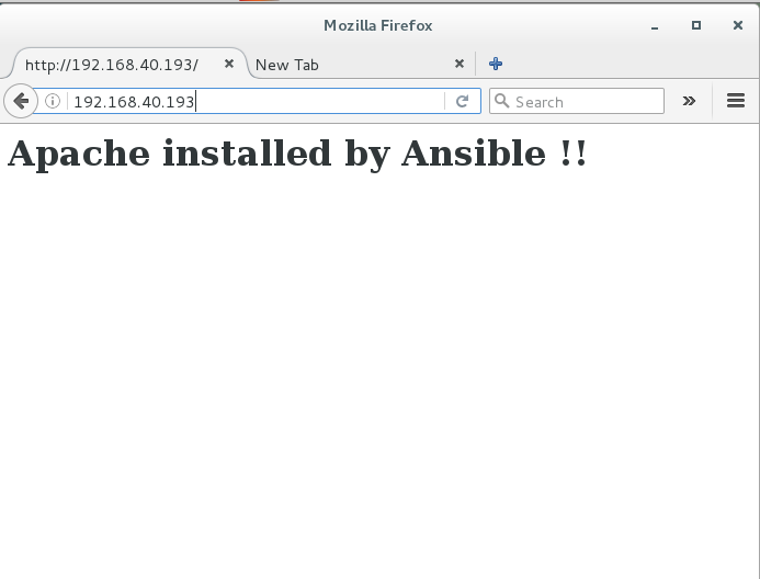 Ansible success
